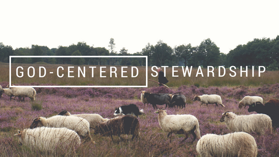 God-centered stewardship, church stewardship, leadership