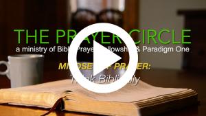 paradigm one, prayer, praying, prayer group, ministry